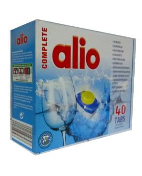 Viên rửa bát  Alio 1 hộp 40 Viên -  hàng nhập khẩu từ Đức